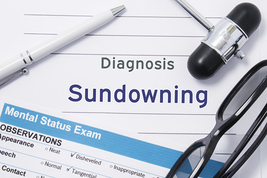 Sundown Syndrome in Patients with Alzheimer's